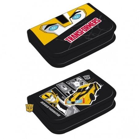 Piórnik z Wyposażeniem Transformers Bumblebee