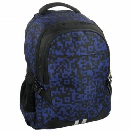 Plecak Jetbag Młodzieżowy Granatowo Czarny