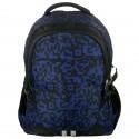 Plecak Młodzieżowy Granatowo- Czarny