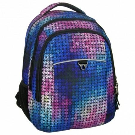 Plecak Jetbag Młodzieżowy Kolorowe Kółka