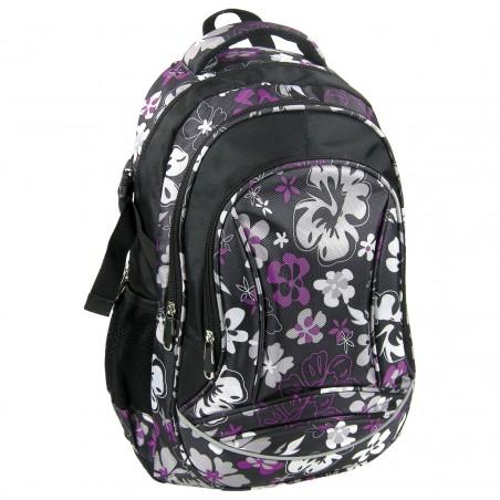 Plecak Jetbag Młodzieżowy Kwiaty