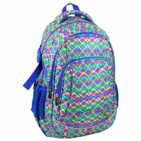 Plecak Jetbag Młodzieżowy Kolorowe Wzorki
