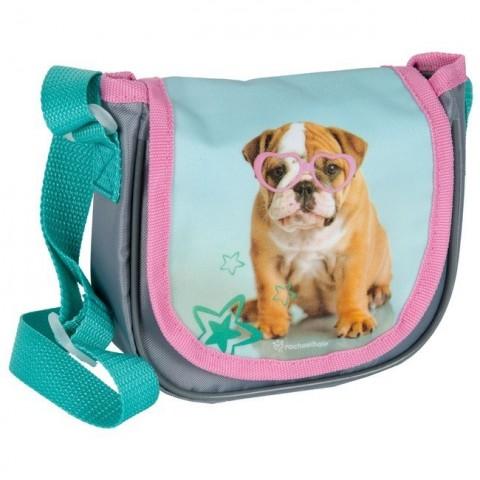 Mała torebka na ramię z klapką Rachael Hale - Buldog angielski
