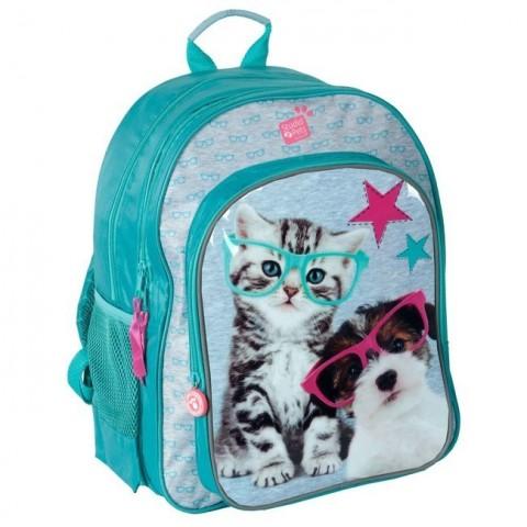 Plecak szkolny Studio Pets - kotek i piesek