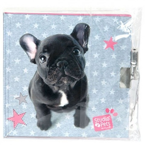 Pamiętnik Studio Pets - Buldog francuski