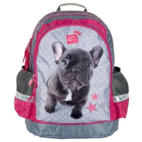 Plecak szkolny Studio Pets - Buldog francuski
