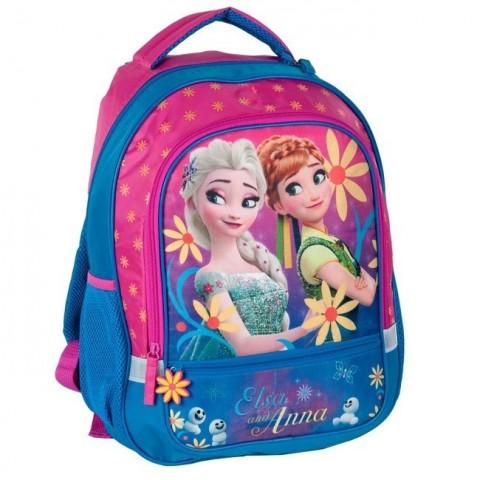 Plecak szkolny Kraina Lodu / Frozen Fever - w kwiaty