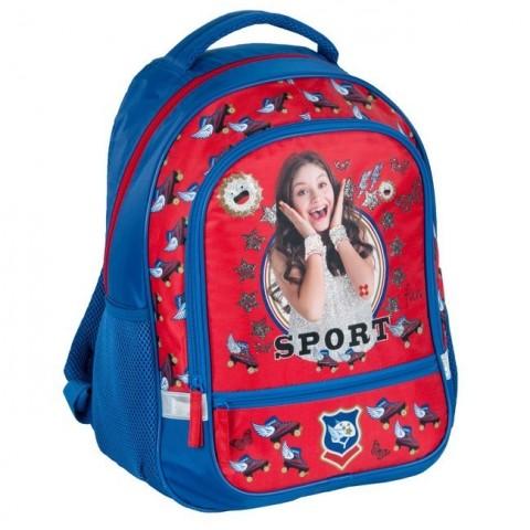 Plecak szkolny Soy Luna - czerwony