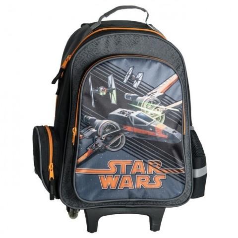 Plecak na kółkach Star Wars ze statkiem kosmicznym