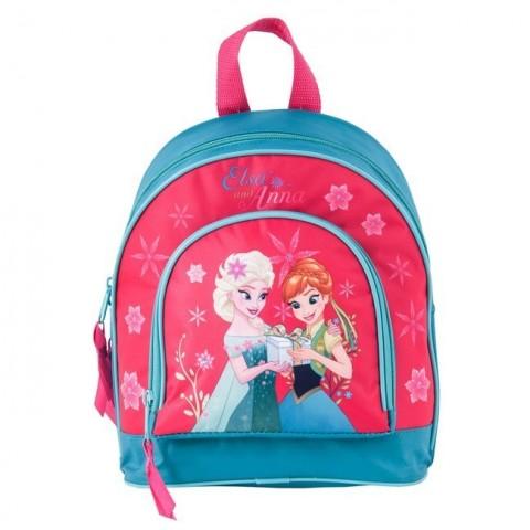 Plecaczek Frozen - Anna i Elsa różowy