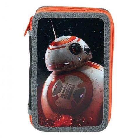 Piórnik z wyposażeniem Star Wars z droidem