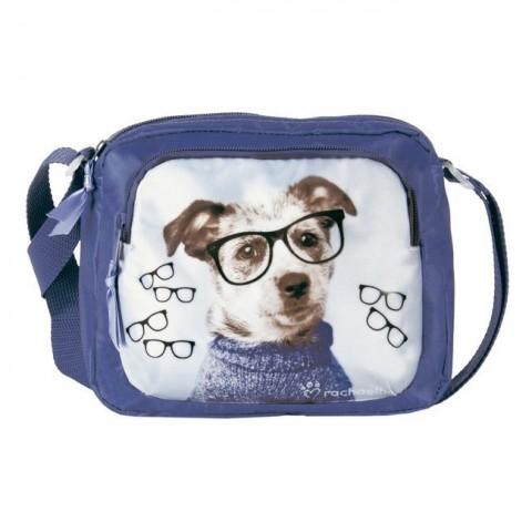 Torebeczka na ramię piesek w okularach