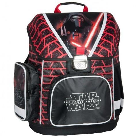 Tornister szkolny Star Wars - czarno-czerwony