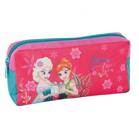 Saszetka Kraina Lodu Frozen - Anna i Elsa różowa