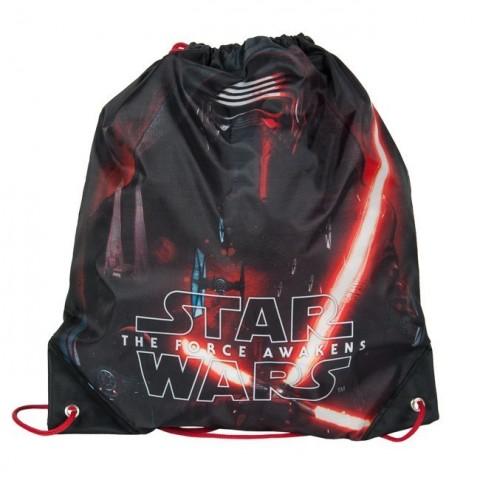 Worek szkolne Star Wars - czarno-czerwony