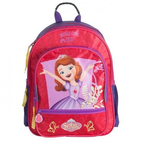 Plecak szkolny Jej Wysokość Zosia - czerwono-różowy