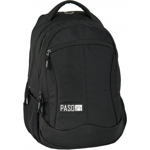 Plecak młodzieżowy Paso Unique Black kolor czarny