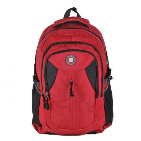 Plecak młodzieżowy - czerwono-czarny