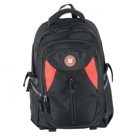 Plecak młodzieżowy - czarno-czerwony