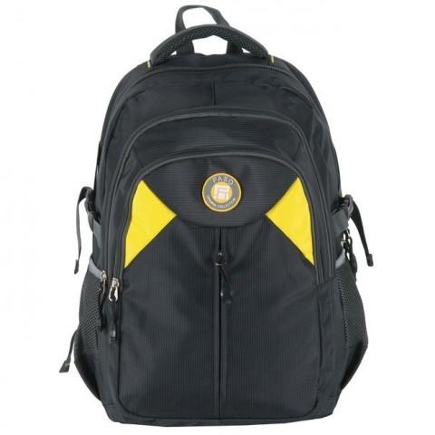 Plecak młodzieżowy - czarno-żółty
