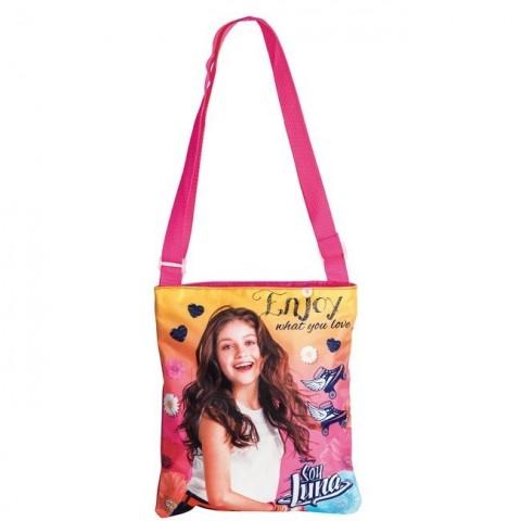 Torebka na ramię Soy Luna różowa - wrotki