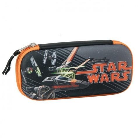 Piórnik twardy Star Wars ze statkiem kosmicznym