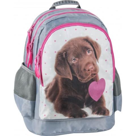 Plecak szkolny Rachael Hale brązowy labrador