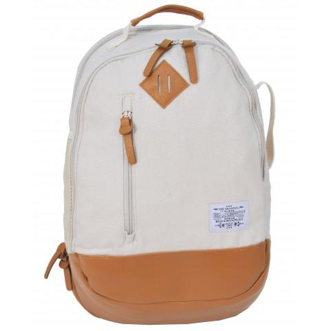 Plecak Młodzieżowy Vintage Kremowy