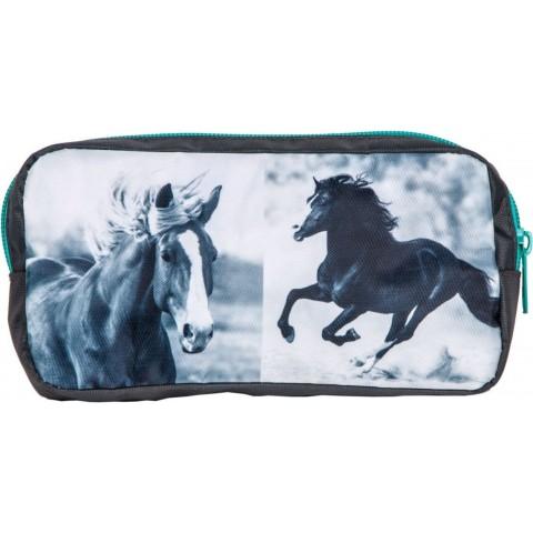 Saszetka konie - turkus