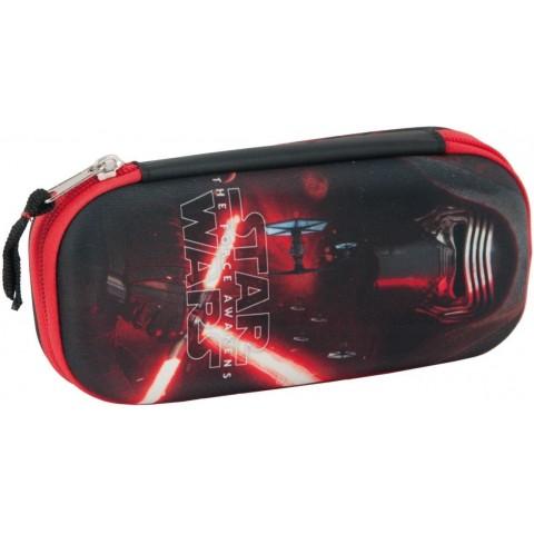Piórnik twardy Star Wars - czarno-czerwony