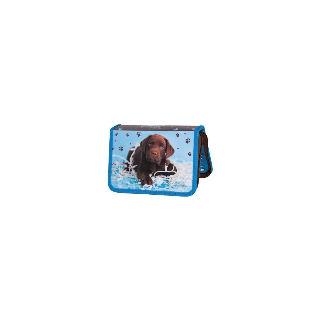 Piórnik z Wyposażeniem Pies Labrador