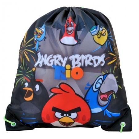 Worek Na Buty Angry Birds Rio Zielony
