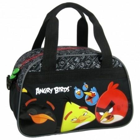 Torba sportowa Angry Birds czarna