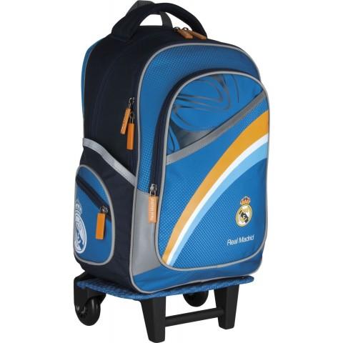 Plecak szkolny na kółkach Real Madryt RM-31 dla chłopca