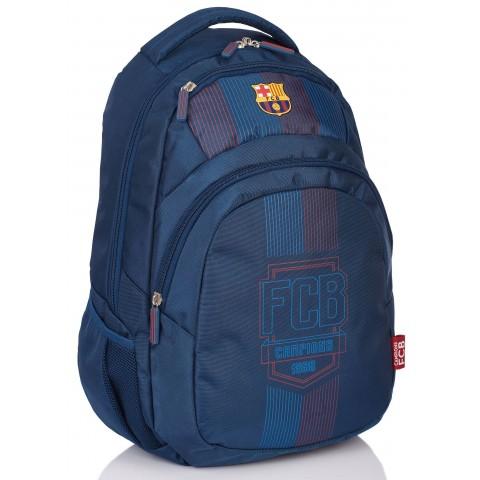 Plecak młodzieżowy FC Barcelona FC-149 granatowy piłkarski