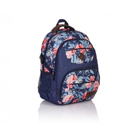 Plecak młodzieżowy HEAD kwiaty HD-21