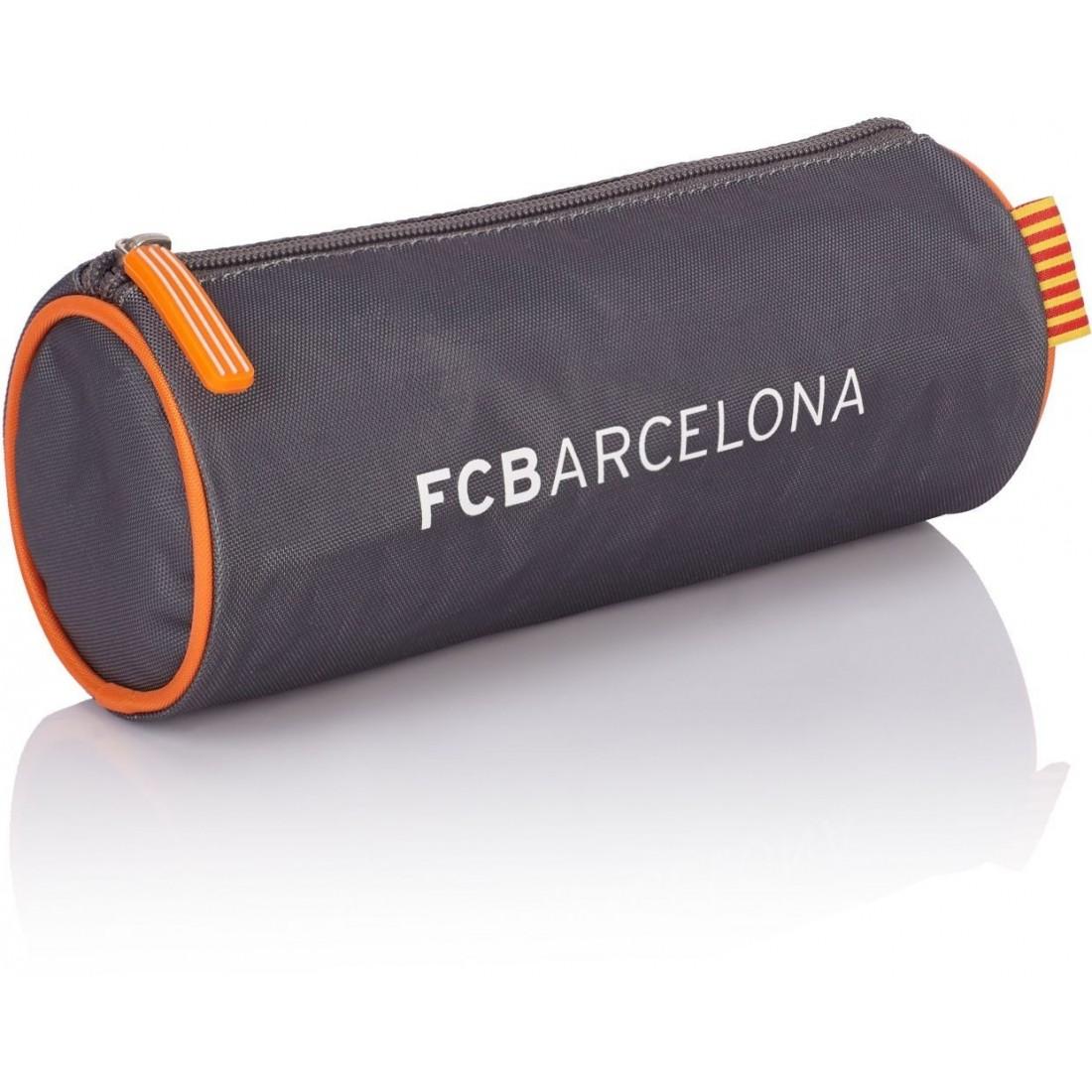 Piórnik / tuba FC Barcelona srebrna FC-155 dla kibica