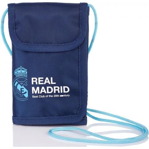 Portfel na szyję Real Madryt granatowy RM-97 dla kibica