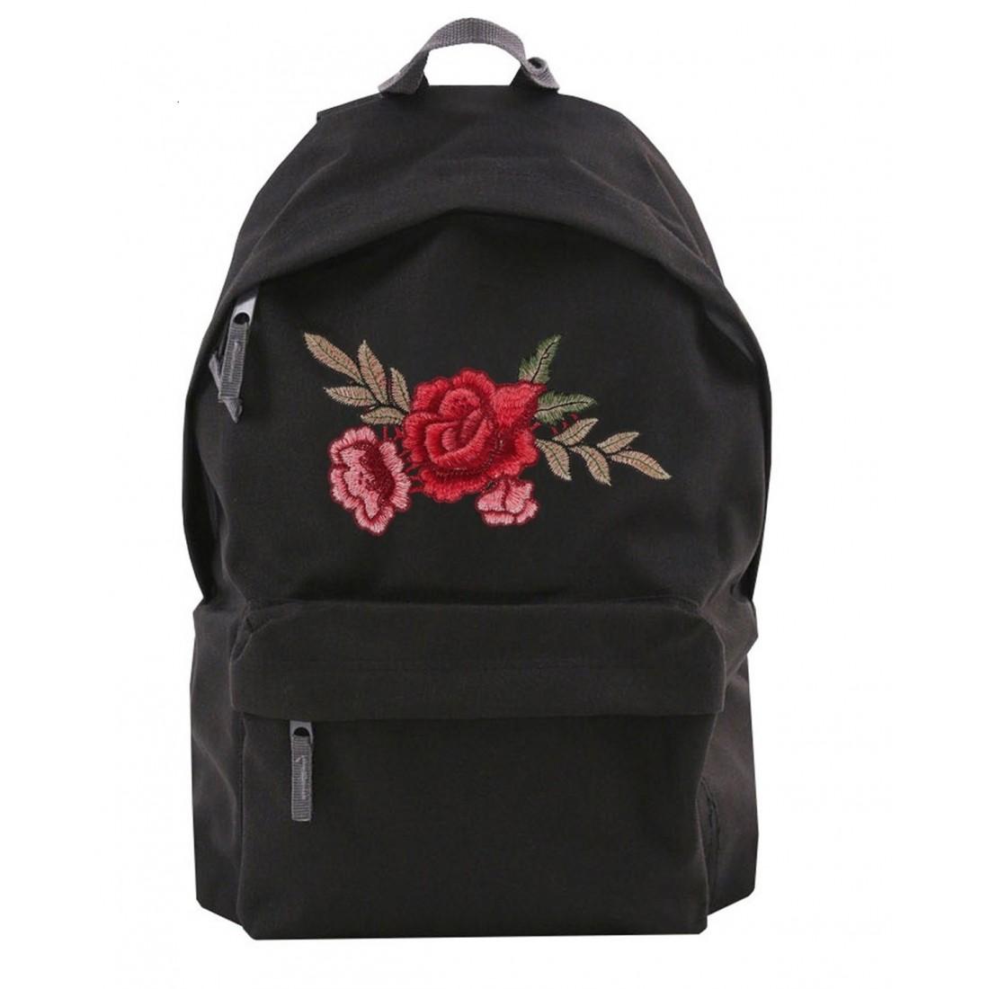 Plecak Simple Roses II czarny/black