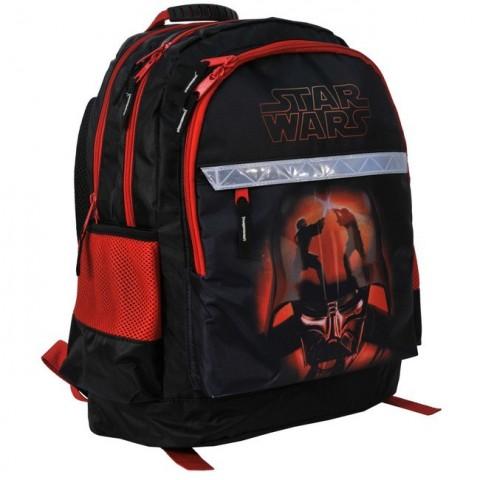 Plecak szkolny Star Wars czarno czerwony