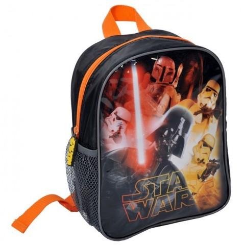 Plecaczek Star Wars z pomarańczowym zamkiem