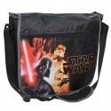 Torba listonoszka na ramię Star Wars czarna
