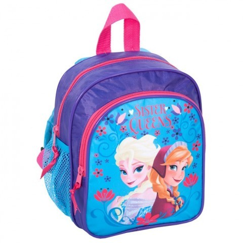 Plecaczek Kraina Lodu niebieski Elsa i Anna