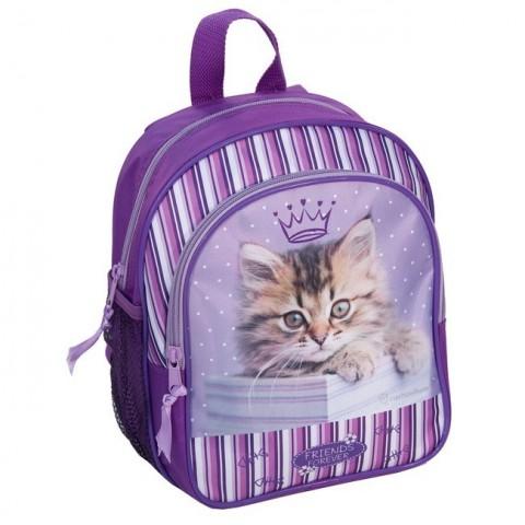 Plecaczek Rachael Hale fioletowy z kotkiem