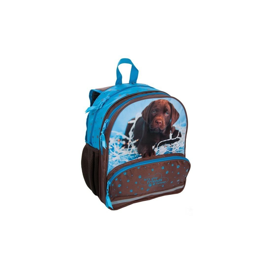 Plecak Szkolny Rachael Hale z brązowym labradorem