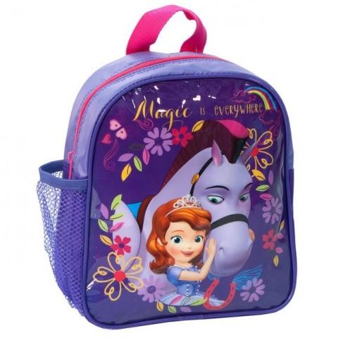 Plecaczek Jej Wysokość Zosia fioletowy z koniem