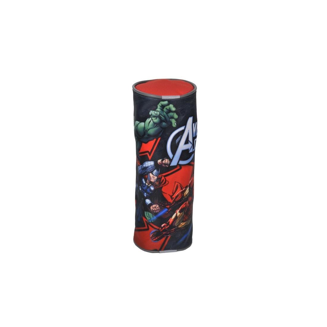 Piórnik Tuba Avengers czarno-czerwony
