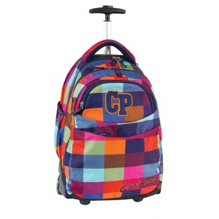 Plecak CoolPack na kółkach młodzieżowy w kratkę - RAPID MOSAIC CP 003