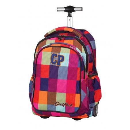Plecak na kółkach CoolPack Junior MOSAIC w kolorową kratkę CP 003a