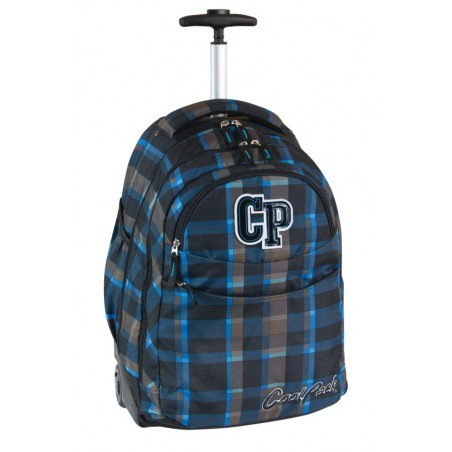 Plecak CoolPack na kółkach dla chłopca w kratkę - RAPID TEXAS CP 073